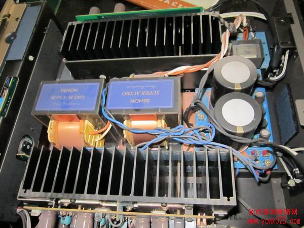 天龙pma-2000高级纯功放保护维修一例